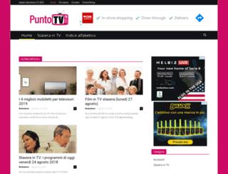 puntotvonline.it screenshot