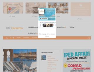 puntoventimiglia.it screenshot