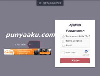 punyaaku.com screenshot