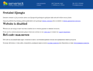 puoskis.eu screenshot