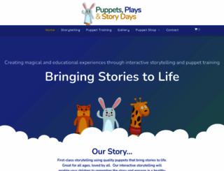 puppetsplaysandstorydays.co.uk screenshot