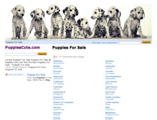puppiescute.com screenshot