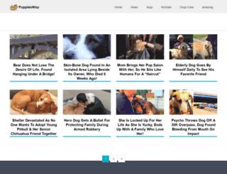 puppiesway.com screenshot