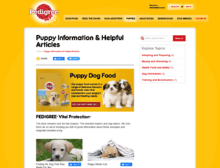 puppy.com.au screenshot