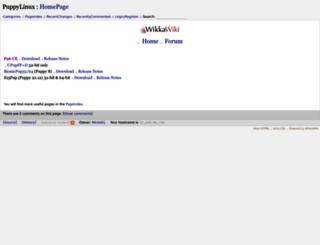 puppylinux.org screenshot