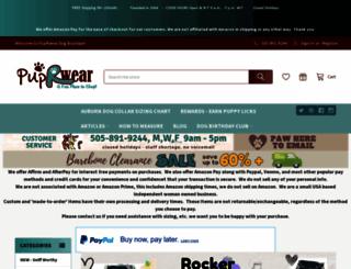 puprwear.com screenshot
