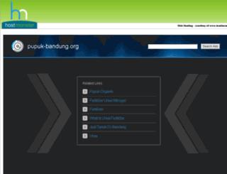 pupuk-bandung.org screenshot