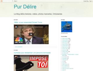 pur-delire.blogspot.com screenshot