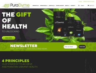 puradyme.com screenshot