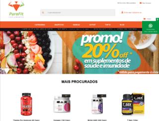 purafit.com.br screenshot