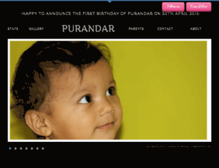 purandarwagh.com screenshot
