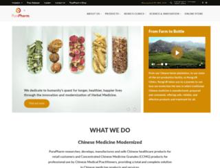 purapharm.com screenshot
