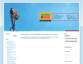 puravankaranewproject.com screenshot