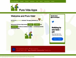 puravidaapps.com screenshot