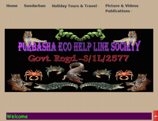 purbashaecotourism.co.in screenshot
