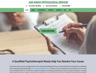 purcellpsychologist.com screenshot