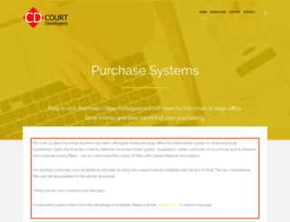 purchasesystems.co.uk screenshot