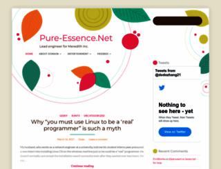 pure-essence.net screenshot