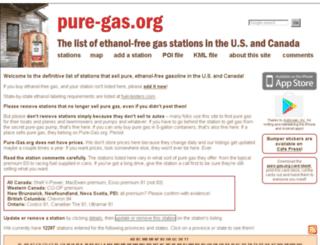 pure-gas.com screenshot