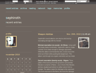 pure-lineage.dreamwidth.org screenshot