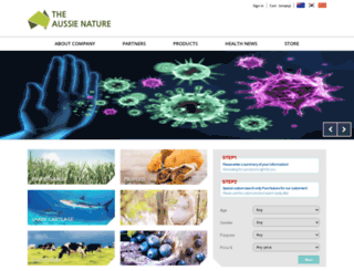 pure-nature.com.au screenshot