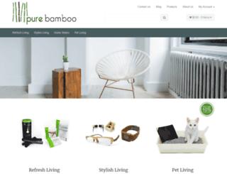 purebamboo.com.au screenshot