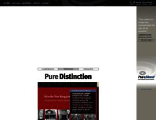 pureblend.com screenshot