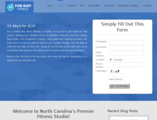 purebodystudios.com screenshot