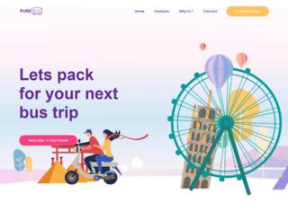 purebus.com screenshot