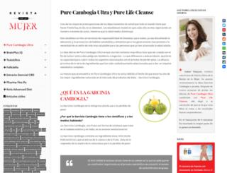 purecambogiaultra.info screenshot