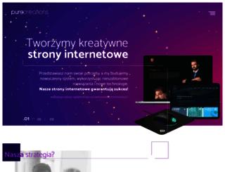 purecreations.pl screenshot