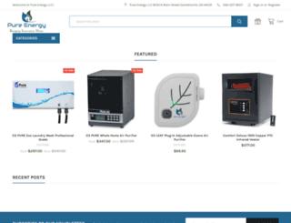 pureenergystore.com screenshot