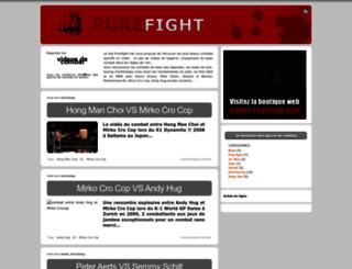 purefight.net screenshot