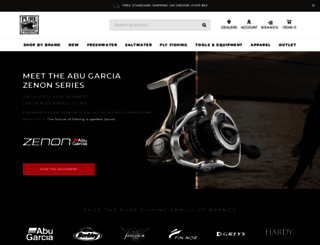 purefishing.com screenshot