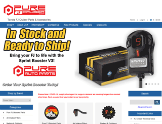 purefjcruiser.com screenshot