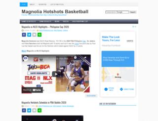 purefoodsbasketball.com screenshot