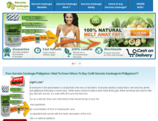 puregarciniacambogiaphilippines.com screenshot