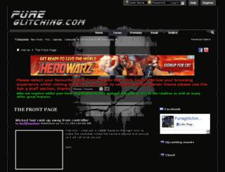 pureglitching.com screenshot