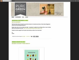puregreendesign.blogspot.com screenshot