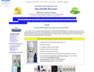 purehealthdiscounts.net screenshot