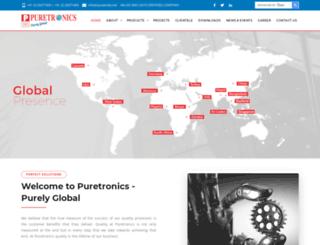 pureindia.net screenshot