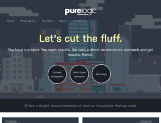 purelogic.ca screenshot