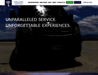 pureluxury.com screenshot