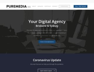 puremedia.com.au screenshot