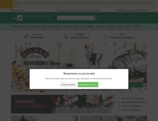 purenature.es screenshot