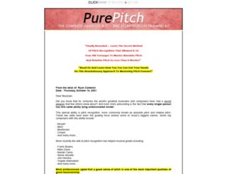 purepitchmethod.com screenshot