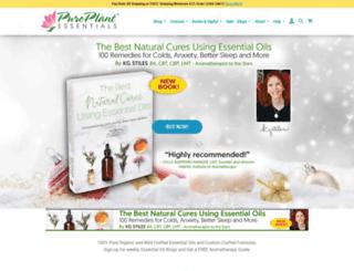 pureplantessentials.com screenshot