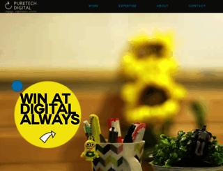 puretech.com screenshot