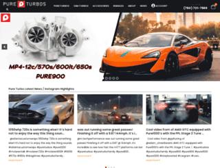 pureturbos.com screenshot