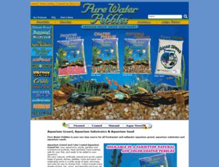 purewaterpebbles.com screenshot